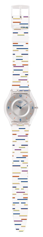 Lineruhren Uhr Sfe108 Swatch Mix Skin Archi Thin I7ybvY6gfm