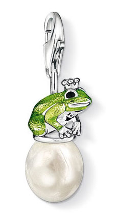 thomas sabo cc 0807 anh nger frog prince charm club frosch schmuck. Black Bedroom Furniture Sets. Home Design Ideas