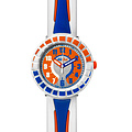 Flik Flak Uhren FCSP009 Kinderuhr Full-Size Boy (7+) All Around Blue & Orange