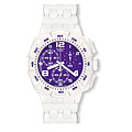 Swatch Uhren SUIW 404 Chronograph Plastic Purplepurity