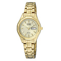 Citizen Uhren EW3142-56PE Eco-Drive Lady Sports goldplattiert