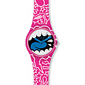 Swatch Uhr GP 133 Kidrobot® Collection Gent Swatch-Shout Out