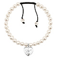 Thomas Sabo SD_A0009-176-14 Sweet Diamonds Armband Perlen Herz graviert 15,5 - 22 cm