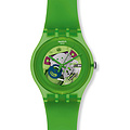 Swatch Uhr SUOG 103 New Gent Collection Green Lacquered