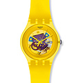 Swatch Uhr SUOJ 100 New Gent Collection Yellow Lacquered