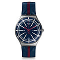 Swatch Uhr YGS467 RED WHITE & BLUE Irony Big Floating Line