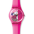 Swatch Uhr GP145 SURFING THE WAVE Gent Pinkorama