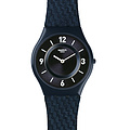 Swatch Uhr SFN123  TECH MODE Skin Blaumann