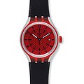 Swatch Uhr YES4008 TECH MODE Irony Big Xlite Go Red