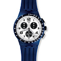 Swatch Uhr SUSN408 SPORT MIXER New Chrono Plastic Travel Choc