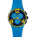 Swatch Uhr SUSS100 SPORT MIXER New Chrono Plastic On Your Mark