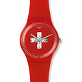 Swatch Uhr SUOR106 GRÜEZI ALL New Gent Swiss around the clock
