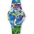 Swatch Uhr SUOW133 VOICE OF FREEDOM New Gent Wall Paint