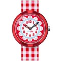 Flik Flak Uhren-Serie FBNP078 SUNNY HOURS - A TRIP TO LONDON Kinderuhr Story Time Girls (3+) Gingham