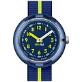 Flik Flak Uhren-Serie FPNP023 SUNNY HOURS - COLOR BLOCK Kinderuhr Friends & Heroes Boys (5+) Yellow Band