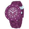 Flik Flak Uhren-Serie FCSP089 COLOR BLAST Kinderuhr Power Time (7+) Solo Purple