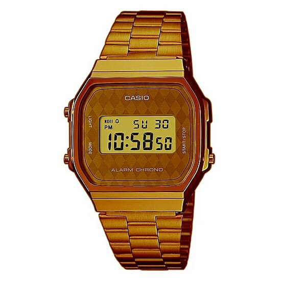 Casio Uhren Retro Collection A168WG-9BWEF