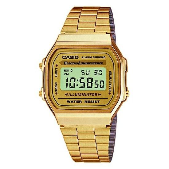 Casio Uhren Retro Collection A168WG-9EF