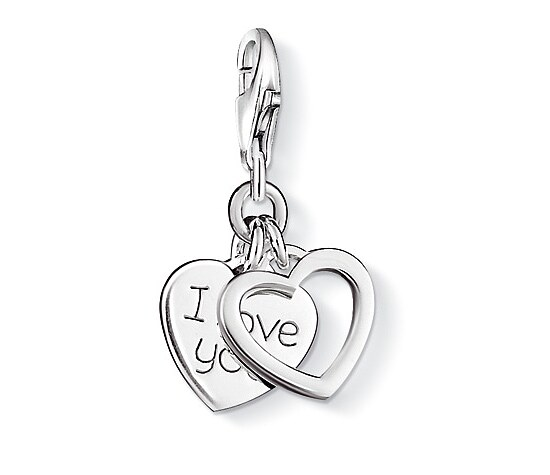 Thomas Sabo CC 0852 Anhänger CHARM CLUB I LOVE YOU