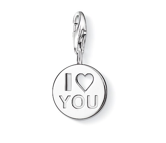 Thomas Sabo CC 0860 Anhänger CHARM CLUB I LOVE YOU