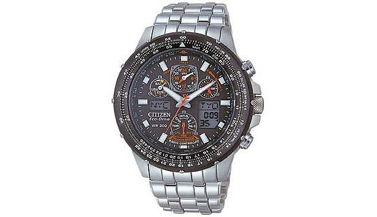 Citizen Uhren Eco-Drive Herrenfunkuhr JY0020-64E Super Skyhawk