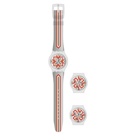 Swatch Uhren Jelly in Jelly Puzzle Motion SUPK 100 Moving Flower