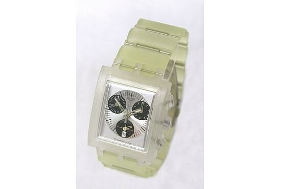 Swatch Uhr Square Chrono SUEK 400C Whitesunday