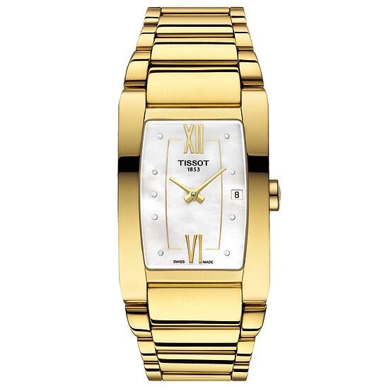 Tissot T105.309.33.116.00 Damenarmbanduhr der Uhren-Serie Generosi-T