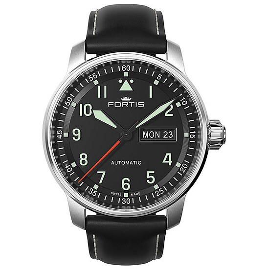 Image of Fortis Flieger Professional Automatic 704.21.11 41,0 mm mit Lederarmband