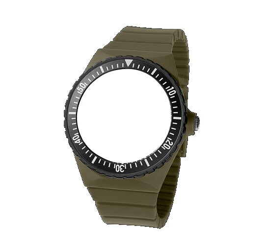 Comeback of the Legendary Flipper - Fortis Colors Wechselband oliv
