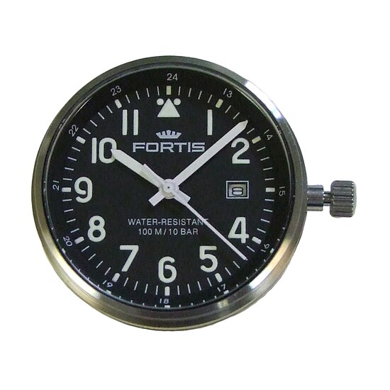 Comeback of the Legendary Flipper - Fortis Colors Ref.704 schwarz