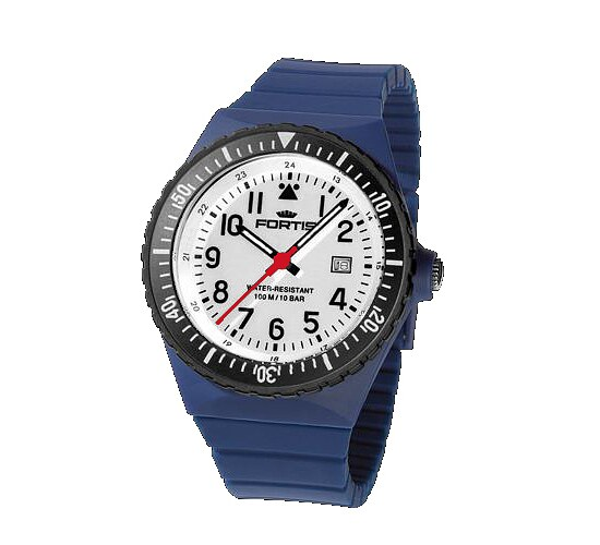Image of Comeback of the Legendary Flipper - Fortis Colors Ref.705 navy
