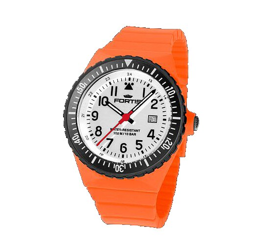 Image of Comeback of the Legendary Flipper - Fortis Colors Ref.705 orange