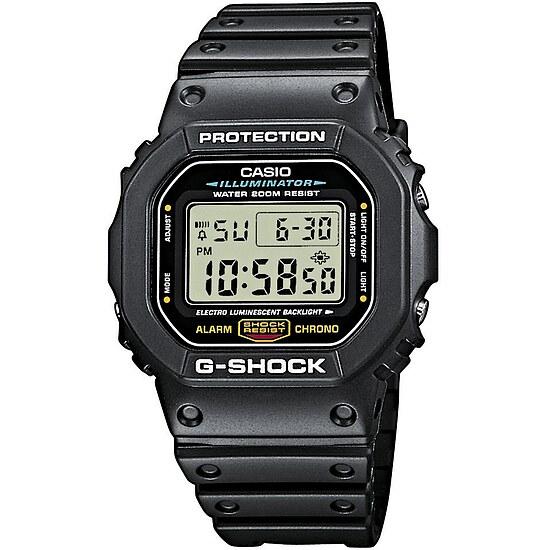 Uhren DW-5600E-1VER Timecatcher