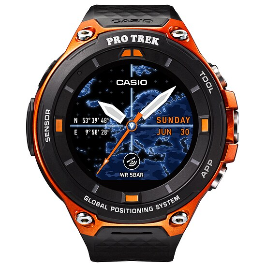 Casio Pro Trek Smart WSD-F20-RGBAE Smart Outdoor Watch der Casio PRO TREK Serie