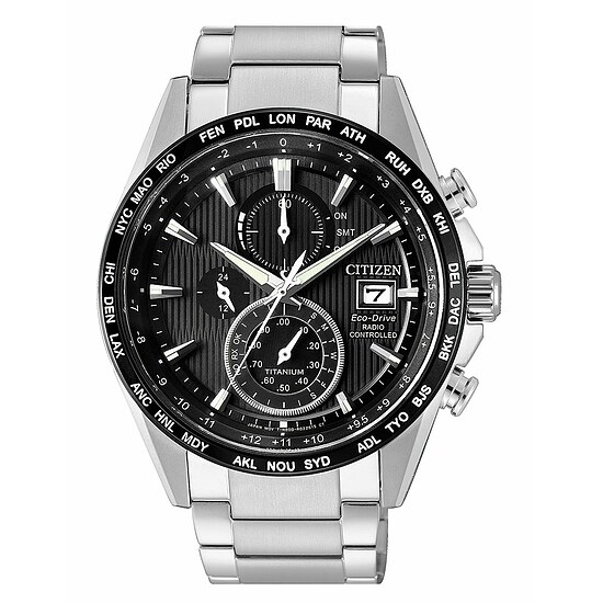 Eco Drive Funkuhr AT8154-82E