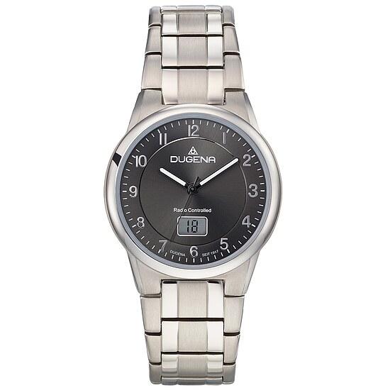 Dugena Herrenfunkuhr der Uhrenserie Funk Titan, Ref.Nr. 4460835 bei Uhrendirect - Markenuhren