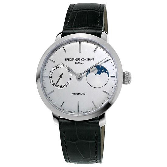 Frederique Constant Herrenuhr FC-702S3S6 der Uhrenserie Slimline Manufacutre Moonphase