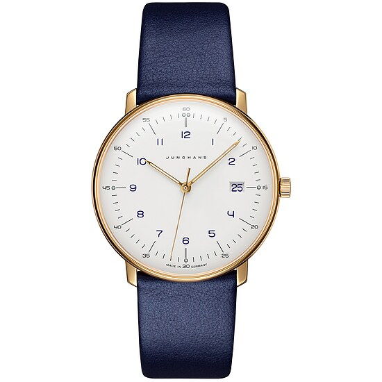 Junghans Uhren-Kollektion 041/7849.00 max bill Quarz