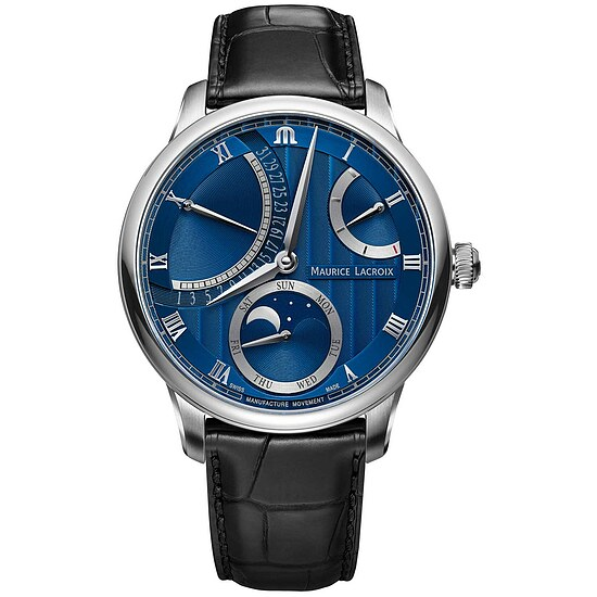 Maurice Lacroix Masterpiece Moon Retrograde MP6588-SS001-431 aus der Uhren-Serie Masterpiece