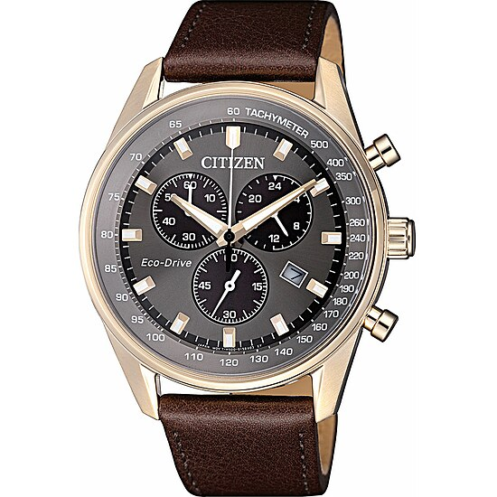 Citizen Uhren-Serie Eco-Drive  AT2393-17H Herren-Chronograph