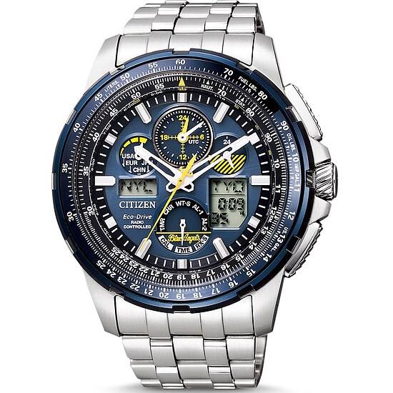 Citizen Promaster Sky - Blue Angels JY8058-50L Eco-Drive Radio Controlled Chrono