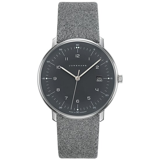 Junghans Uhren-Kollektion 041/4818.00 max bill Quarz