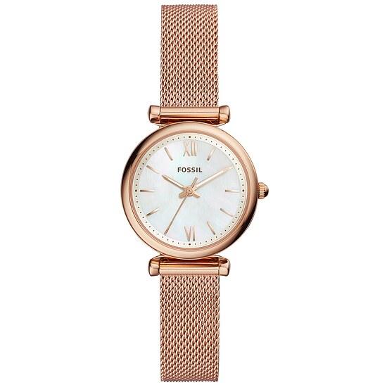 Fossil Damen der Uhrenserie ES 4433 Carlie Preisvergleich