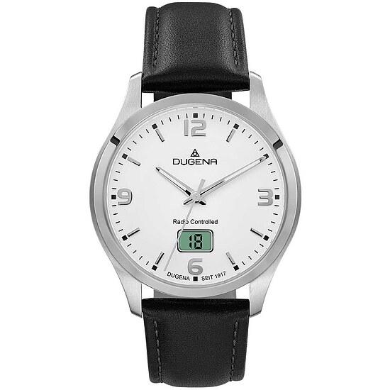 Herrenfunkuhr der Uhrenserie Tresor Funk Edelstahl, Ref.Nr. 4460861