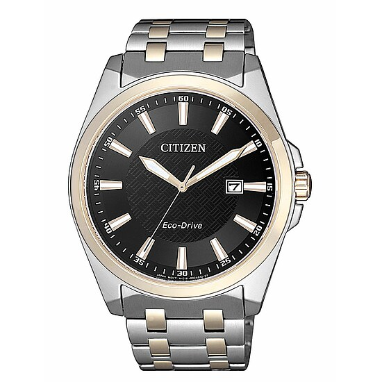 Citizen Uhren-Serie BM7109-89E Eco-Drive Herren Sports bicolor