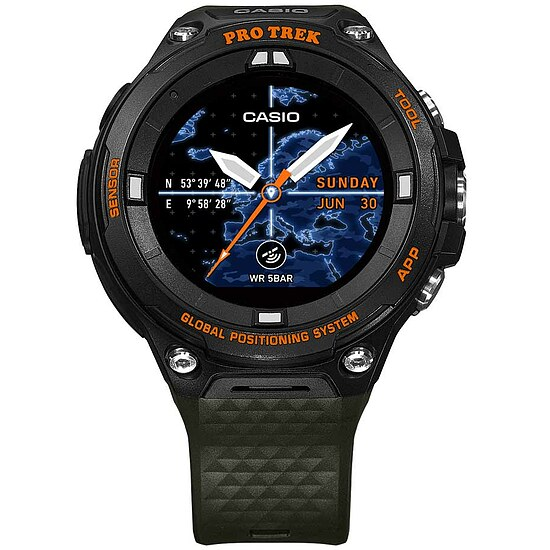 Pro Trek Smart OutdoorWatch WSD-F20A-GNBAE Herrenuhr Uhrenserie Smart Watch