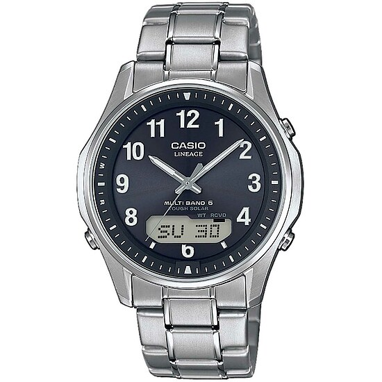 Uhren Funkuhr Wave Ceptor LCW-M100TSE-1A2ER