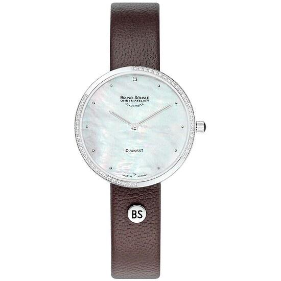 Bruno Söhne Damenuhr 17-13171-953 der Uhrenserie Nofrit Brillant