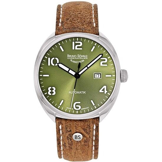 Glashütte Uhren-Serie 17-12210-661 Herrenuhr mit Automatikwerk der Serie La Spezia 2